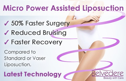 micro power assisted liposuction